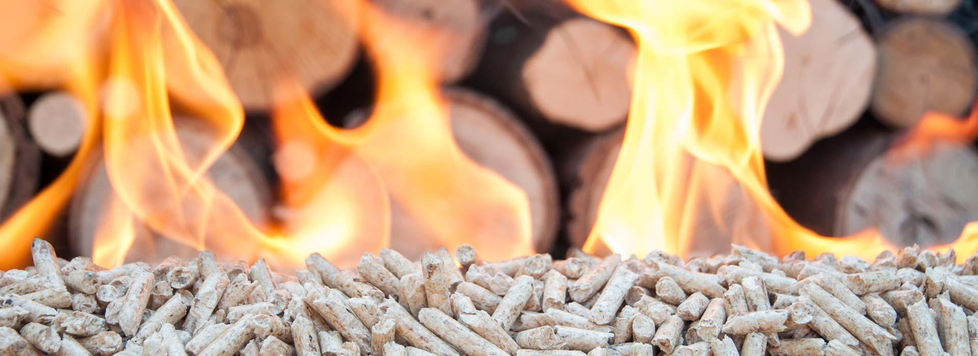 Outdoor-Pellets-On-Fire